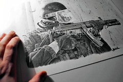 DessinsTactiques - Dessin Original Commando-Marine GCMC / HK MP5 SD6 (Part I) (DessinsTactiques.com) Tags: art artwork gun navy dessin sas cos swat commando 9mm chasuble ctm sek navyseals dessiner graphisme cagoule counterterrorism marinenationale 9x19 gcmc frenchnavy graphitepencils crayonn commandomarine forcesspciales casquelourd jaubert pistoletmitrailleur ctlo davidandro hkmp5sd6 hkarms tacticalartwork dessinmilitaire crayonsgris gantstactiques visirebalistique dessinstactiquescom dessinstactiques dessinoriginal groupesdintervention dessinforcesspciales crayonsgraphite wwwdessinstactiquescom