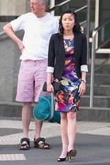 DSC_8667 (redstreaker) Tags: street woman beauty fashion asian makeup melbourne heels prettywoman
