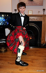 Wee Liam gets set to party (mootzie) Tags: new fun kilt year liam wee laughter aussie hogmanay maclean sporran flashes dubh sgian
