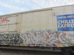 WOER (Same $hit Different Day) Tags: train graffiti rail heads ya freight rtd railheads woer
