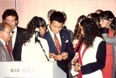 Muhammad Ali Night of Champions July 29, 1991 (MarkGregory007) Tags: beach dundee miami mark ali boxing muhammadali mathosian angelodundee