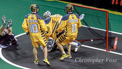 Cliff Smith Goal (The Vancouver Herald) Tags: canada minnesota vancouver goal britishcolumbia minneapolis langley dominion cascadia 2014 nll boxlacrosse cliffsmith dominionofcanada nationallacrosseleague eastdivision westdivision minnesotaswarm langleyeventscentre vancouverstealth