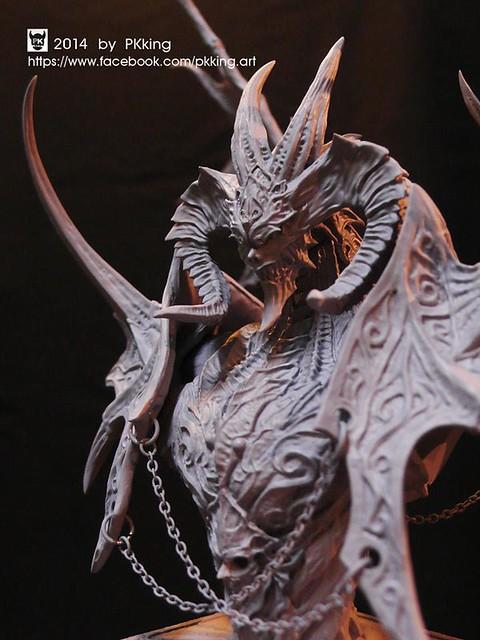 PKKing工作室五週年紀念商品「巨獸胸像」
