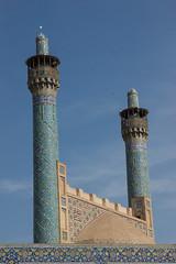 Praying minarats (sherif khattab) Tags: architecture persian iran persia mosque ceiling carpets bazar jahan aliqapupalace isfehan naqshejahansquare