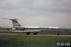 CCCP-65697 (EI-NJK) Tags: afl dublinairport tupolev aeroflot tu134 eidw cccp65697