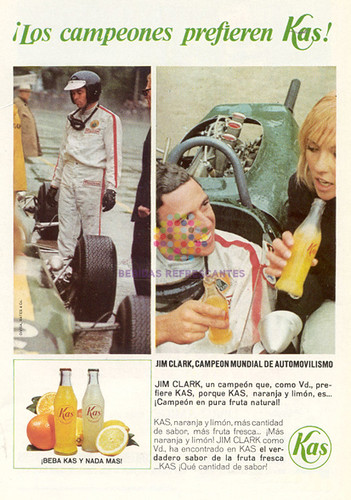"""Kas. """"Jim Clark"""". 1966"""
