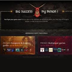 gog.com แจก Dungeon Keeper ภาคแรก แถมลดราคาเกม 90% อีกเพียบ ฮือๆๆ ฆ่ากันเลยดีกว่า!!!!