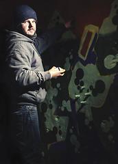 grafitti man (loren amie) Tags: street boy man london art real paint artist grafitti tunnel can spray speedlight legal modelled lorenamie