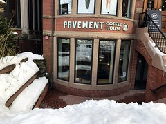 Pavement Coffee, Boston (Bex.Walton) Tags: boston usa massachusetts travel winter snow coffeeshops specialitycoffee cafes cafe craftcafe pavementcoffee newburystreet backbay