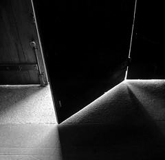 When the light comes in (DSC03300) (Pieter Berkhout) Tags: pieterberkhout lightfall light door shadows shades