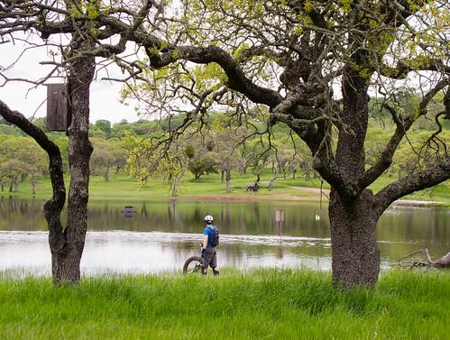 Josh at the lake