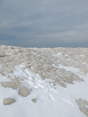 Out taking a walk in an area. (Tim Kiser) Tags: 2015 20150117 grandhaven grandhavencitybeach grandhavenmichigan greatlakes greatlakeslandscape img6151 january january2015 lakemichigan lakemichiganice lakemichiganlandscape michigan michiganlandscape ottawacounty ottawacountymichigan citybeach cloudy footprints footprintsinsnow footprintsthroughsnow frozenlakemichigan frozenlake frozenlandscape ice iceandsnow icelandscape landscape overcast overcastlandscape slippery slipperyarea snow snowandice snowylandscape view westmichigan westernmichigan winterlandscape unitedstates