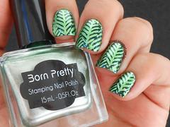 Stamping Nail Polish  #37 - Nurbesten (Lily's Nail) Tags: nailart unhascarimbadas unhasdecoradas unhas nurbesten bornprettystore