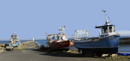 rosehearty harbour