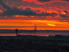 Oresund Bridge at Dawn October 26th 2016 #2 (JDurston2009) Tags: copenhagen orestad oresundbridge dawn sunrise