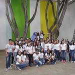 Visita escolar del Cobao