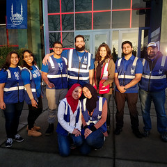 Islamic Relief's Disaster Response team providing support for those affected by the Oroville Dam