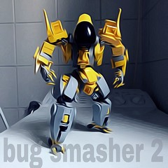 R&D Bug Smasher 2 Mech (Marco Marozzi) Tags: lego legodesign legomech moc mech mecha robot marco marozzi droid drone