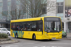 Yellow Buses 31 YX61 EMV (johnmorris13) Tags: yellowbuses yx61emv alexanderdennis adl enviro200 bus ratp