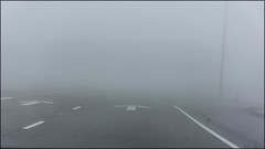 Week 8: There must be a lane somewhere here (gabor retei) Tags: palmsprings explored fog california week8of52 the2017edition week8of52the2017edition