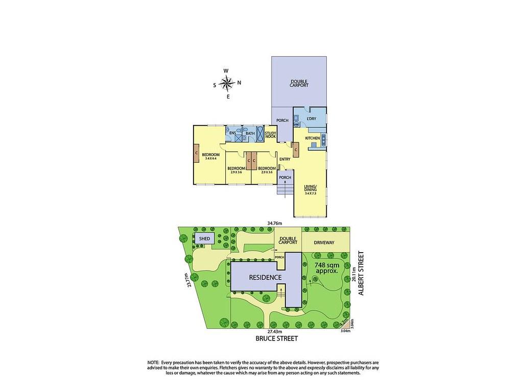 74 Albert Street floorplan