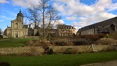 18. Abbaye de Mondaye (@bodil) Tags: france calvados normandie abbayedemondaye allfreepicturesjune2017challenge architecture