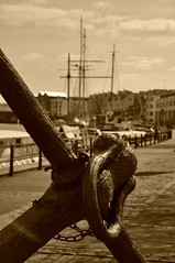 Anchors aweigh (katy1279) Tags: anchor anchorsaweigh bristol harbour harbourside masts ships yachts seafaring