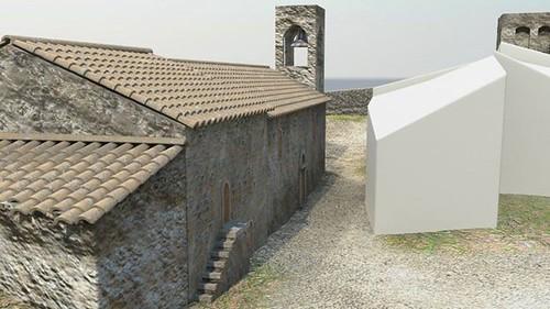 ricostruzione virtuale castello dicontignano 07