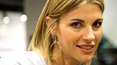 """Martina Colombari, ospite a """"Domenica Live"""" si racconta e parla del figlio (TV-Italia) Tags: martina colombari"""