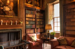 Antony House, Cornwall -  library (Baz Richardson (trying to catch up again!)) Tags: cornwall antony antonyhouse queenannehouses 18thcenturyarchitecture countryhouses