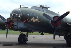 Boeing B-17G Flying Fortress 44-85784 (rob_hinton28) Tags: iwmduxford imperialwarmuseum boeing b17 flyingfortress usaf unitedstatesairforce usairforce memphisbelle duxford sallyb