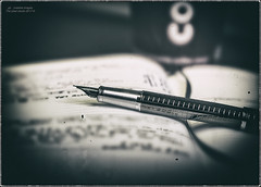 Notes And Scribblings... (kirby126) Tags: coffeepeninkfountainpen notes scribblings coffee fountain pen canon60d 50mm