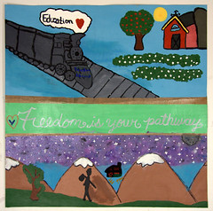 Wilson Wims Elementary School, Clarksburg, MD (International Fiber Collaborative, Inc.) Tags: thedreamrocket internationalfibercollaborative saturnvrocket space nasa astronaut conservation aliens twintowers health family diversity glitter christmas newyork nova art environment clean trees water trash planting green people cancer group equality paint flag elementary school home humans agriculture mountain save leader unitedstatesofamerica facebook felt kentucky washington olympic peace presidentobama stars community global kids express explore discover war animal abuse racism religious intolerance