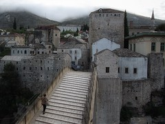 'Mist over Mostar'           (see description) (Milesofgadgets ) Tags: pentaxk10d smcpentaxda1645mmf4edal starimostmostar oldbridgemostar petermiles petermiles