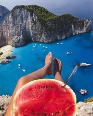 Navagio beach, Zakynthos   Greece (travelingpage) Tags: travel traveling traveler destinations journey trip vacation places explore explorer adventure adventurer