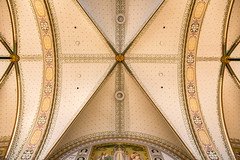Ceiling of the Rijksmuseum, Amsterdam (Jill Clardy) Tags: 2017 europe thenetherlands vantagetravel rivercruise rijksmuseum ceiling detail painted art gallery symmetry 201703294b4a1053