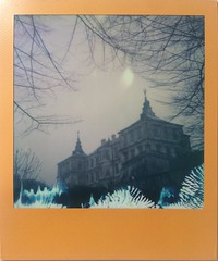 Where Ghosts Live (o_stap) Tags: impossibleproject architecture palace castle filmisnotdead believeinfilm film600 polaroid600 polaroid instant analog roidweek polaroidweek instagramapp square squareformat iphoneography