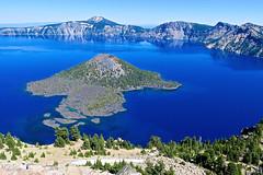 Crater Lake, OR (Robby Virus) Tags: craterlake oregon or lake volcano mount mountain caldera mazama outdoors nature landscape national park