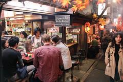 Shinjuku Omoide Yokocho street / tokyo night street / dining time in japan (red-illusion) Tags: shinjuku omoide yokocho street tokyo night dining time japan