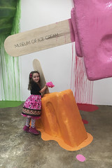 Museum Of Ice Cream - Los Angeles 2017 (evaxebra) Tags: museum ice cream icecream moic museumoficecream art pink installation losangeles la downtown 7th luna minnie mouse dress melting popsicles