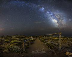 Milky Way Calblanque 2 (J. Cuenca) Tags: milkyway nocturna calblanque playa noche astrofotografia nigthlandscape murcia cartagena mar