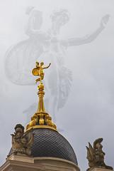 Potsdam - Fortuna (Helmut44) Tags: deutschland germany brandenburg potsdam landtagbrandenburg barock stadtschloss altermarkt fortuna fortunaportal portal frau woman gold frauenskulptur womenstatues architektur kuppel historisch