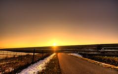 The road to the pot of gold. (Alex-de-Haas) Tags: 1635mm camperduin d750 dutch hdr holland hondsbosschezeewering nederland nederlands netherlands nikkor nikkor1635mm nikon nikond750 noordholland thenetherlands westfriesland belichting cloudless daglicht daylight handheld hemel highdynamicrange landscape landscapephotography landschap landschapsfotografie licht light lighting lucht onbewolkt skies sky sneeuw snow sundown sunset unclouded winter zonsondergang