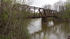Abandoned railroad bridge at Rupert (D A Cameron) Tags: train railroad tracks bridge northshore history americana pennsylvania columbiacounty columbia northeast susquehanna rupert catawissa