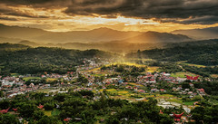 Sunset Over Rantepao, Toraja (syukaery) Tags: landscape sunset toraja sulawesi indonesia nikon d750 nikkor 1635mm nature scenery travel tourism trip wanderlust rayoflight