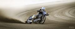 Speedway (>>Marko<<) Tags: finland joensuu suomi maarata motor motorbike motorcycle ravirata speed speedway sport moottoripyörä dust gravel slide helmet motorsport dirttrack