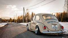 IMG_2800 (Concker) Tags: vw volkswagen beetle bug 1300s aircooled stance stanced norway spring winter low lowered canon 5d sigma vacn vwnorge