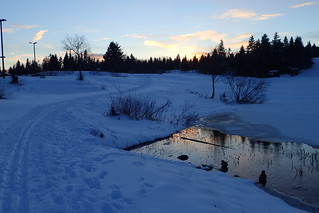 Late winter at Øvresetertjern