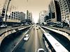 Disposable Buildings (Ederson Gomes) Tags: sp paulista ônibus bus carros cars avenida metrópole avenue traffic tráfego trânsito mobilidade transportepúblico transporte transport prédios construções build gopro hero5