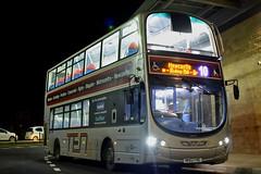 Go North East 6078 NK62FHE (Northern156) Tags: nebuses go north east hexham volvo b9tl wright gemini 6078 nk62fhe ten 10 10a 10b 10x newcastle eldon square bus station metrocentre blaydon prudhoe corbridge